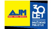 AJM logo 30 let